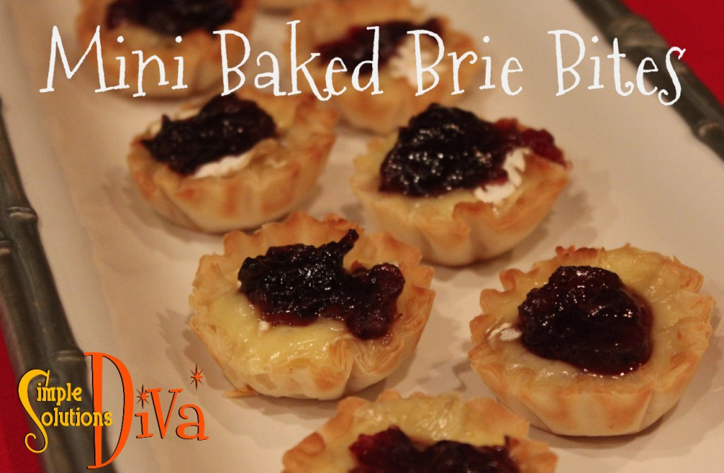 SSD Mini baked brie