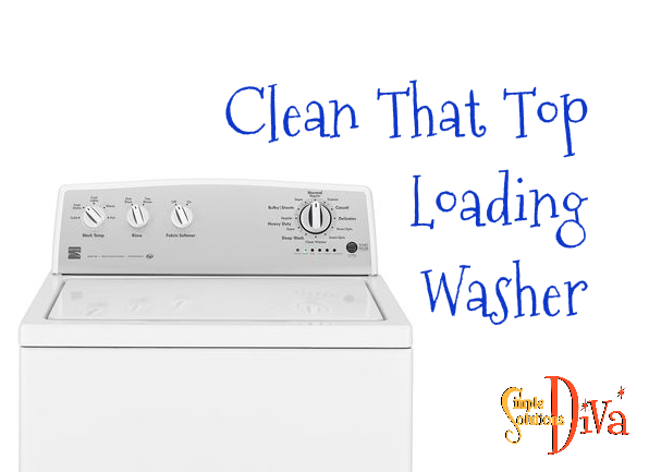 Clean Top Loading Washer