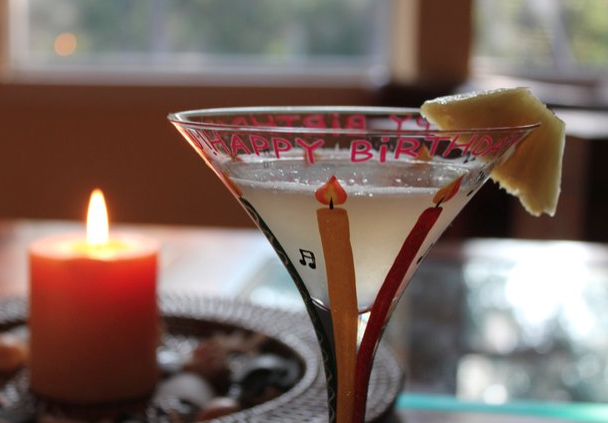 My birthday drink of choice several years ago!