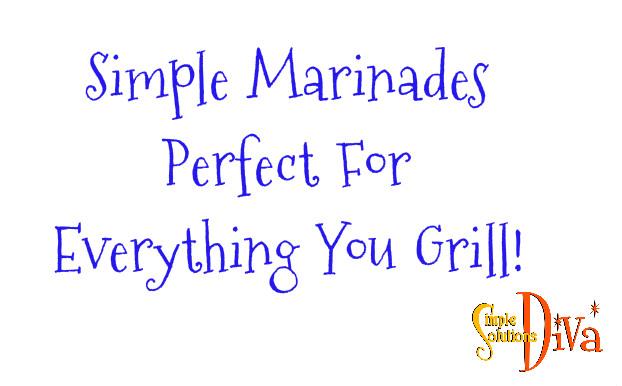 SSD Grill Marinades