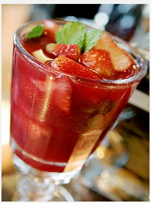 Strawberry Sangria (Adapted from Fraîche restaurant) Photo Credit: Carlos Chavez / Los Angeles Times