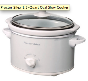 Proctor Silex 1.5 Quart Slow Cooker - photo courtesy of RealSimple.com
