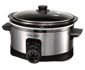 Hamilton Beach Simplicity 6 Quart Slow Cooker - photo courtesy of RealSimple.com.