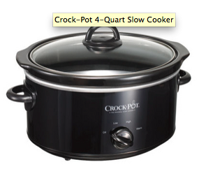 Crock-Pot 4 Quart Slow Cooker - photo courtesy of RealSimple.com.