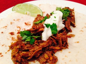 Crockpot Beef Barbacoa from SimpleSolutionsDiva.com.