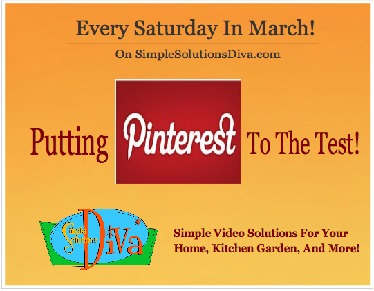 Putting Pinterest To The Test, from SimpleSolutionsDiva.com.