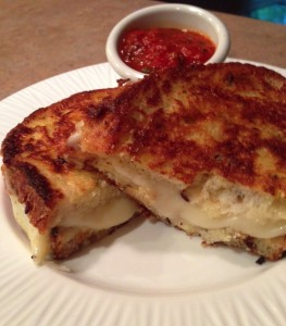 UpGraded Grilled Cheese from SimpleSolutionsDiva.com.