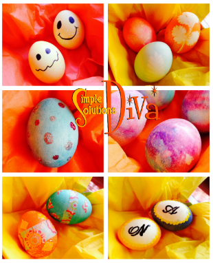 Six Unique Easter Egg Decorations!