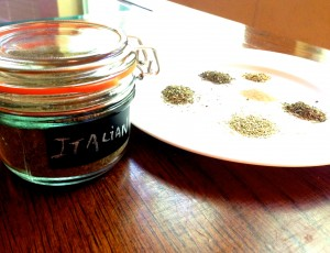 Homemade Italian Seasoning, from SimpleSolutionsDiva.com.