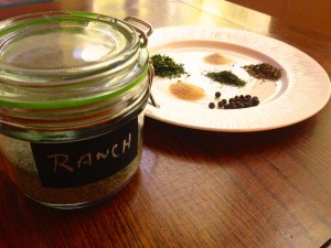 Homemade Ranch Seasoning Mix, from SimpleSolutionsDiva.com.