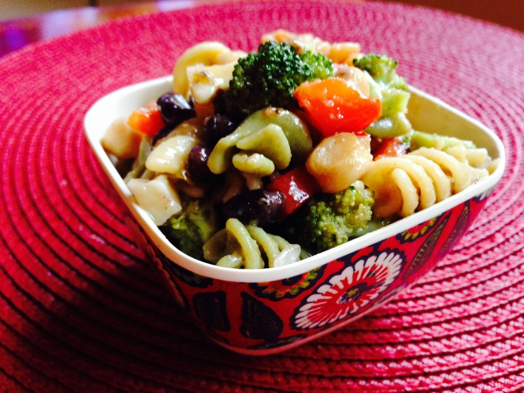 Veggie Pasta Salad, from SimpleSolutionsDiva.com!
