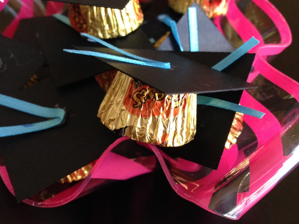 Graduation Cap Candy from SimpleSolutionsDiva.com.