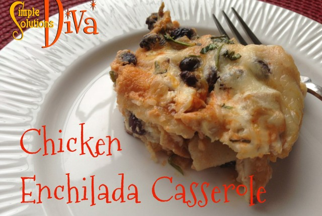 SSD Chicken Enchilada