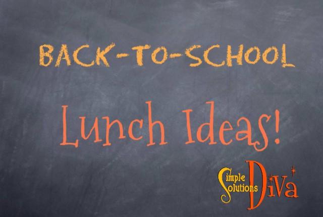 BTS Lunch ideas