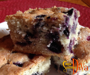 Back-ToSchool Blueberry Breakfast Cake