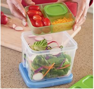 Rubbermaid Lunch Blox Salad Kit
