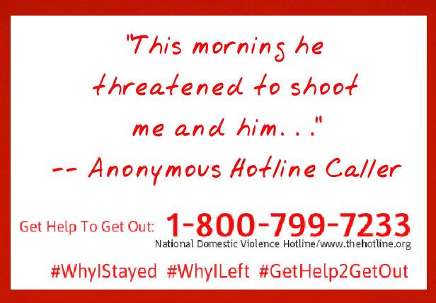Domestic Violence caller