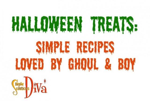 Halloween Treats sign