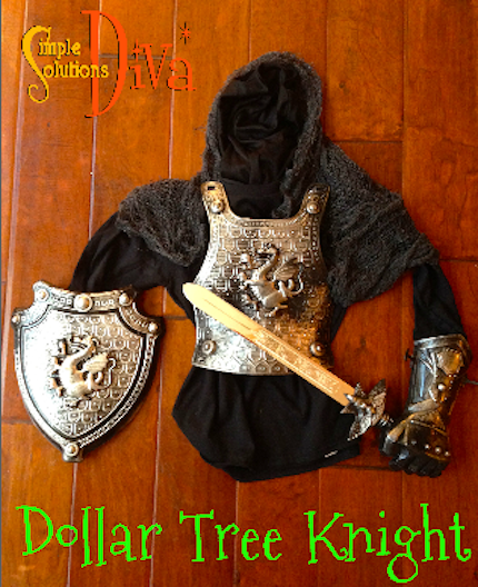 Dollar Tree Knight by SimpleSolutionsDiva.com. Total Cost: $5