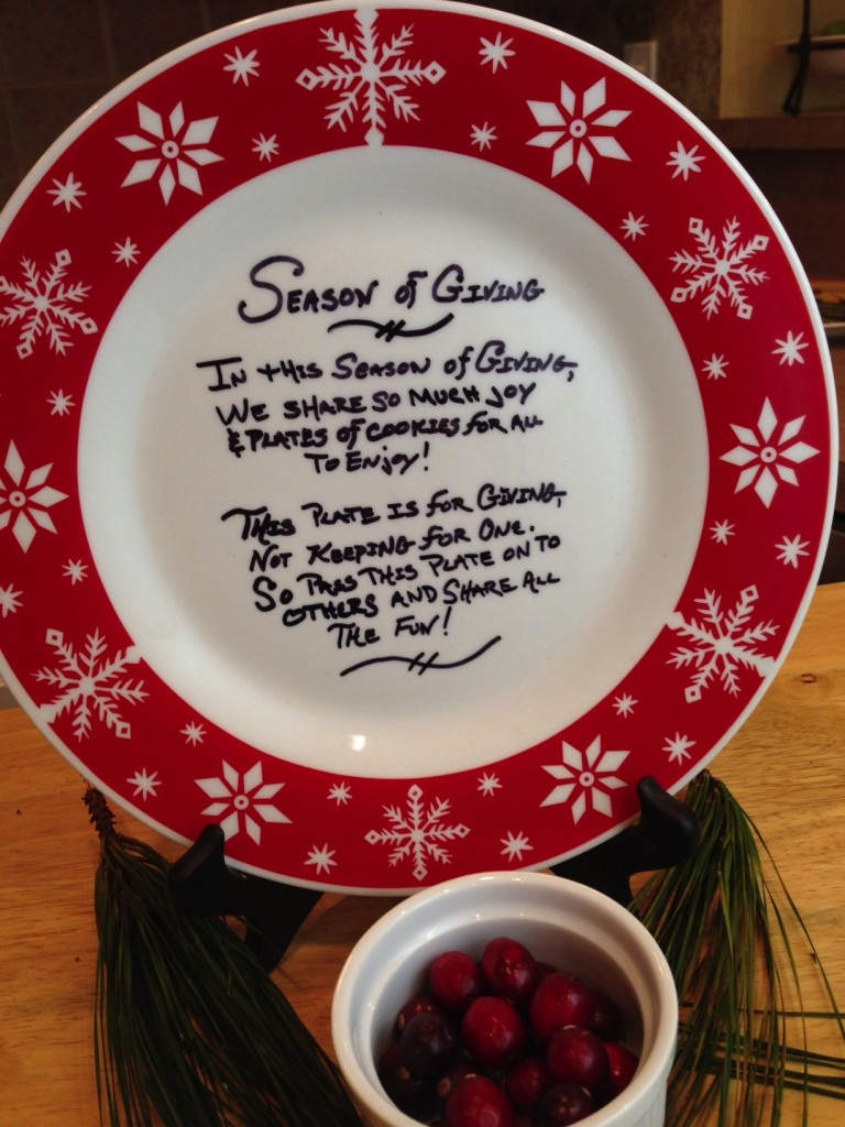Season Of Giving Plate