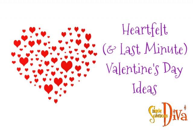 Lsat Minute Valentines