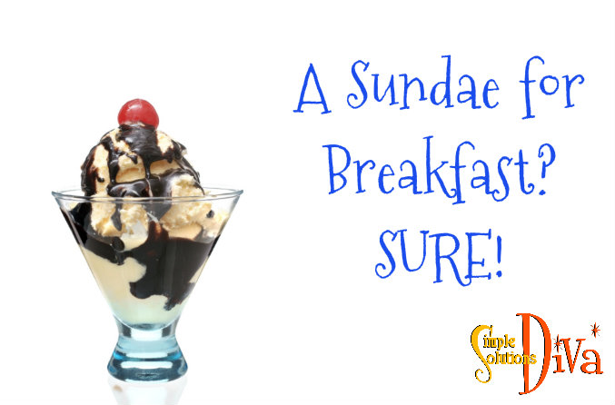 SSD Breakfast Sundae