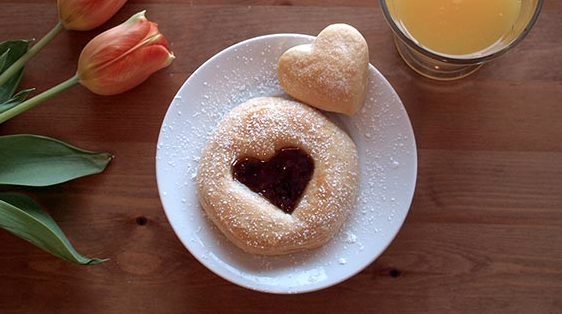 """I Love You"" Biscuits. Photo Credit: Pillsbury.com."