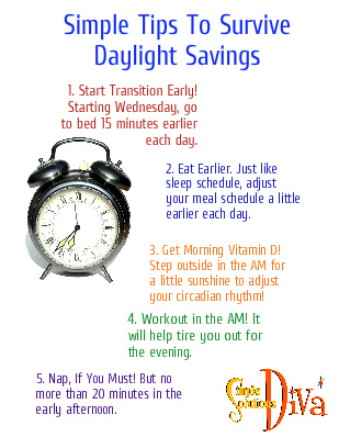 SSD Daylight Savings Tips