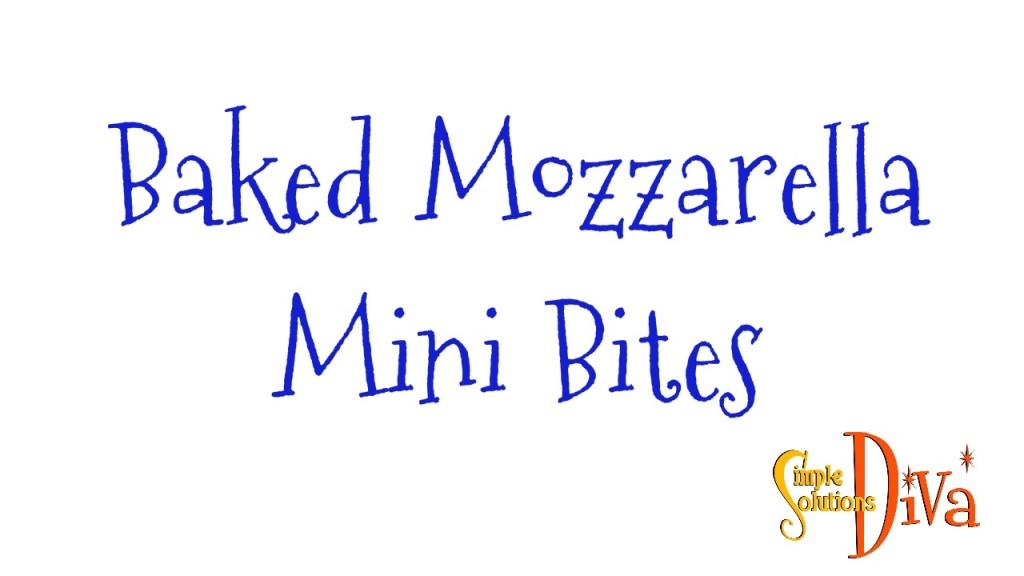 SSD Mozzarella Mini Bites