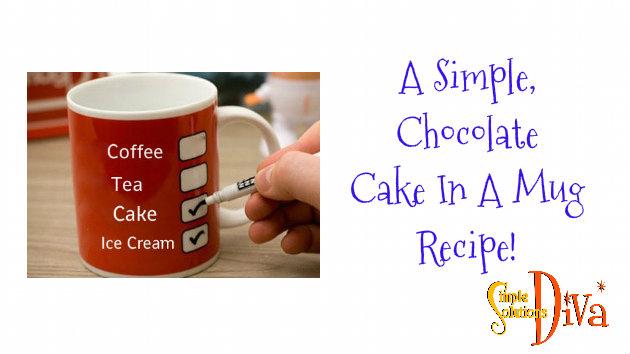 SSD Cake in mug