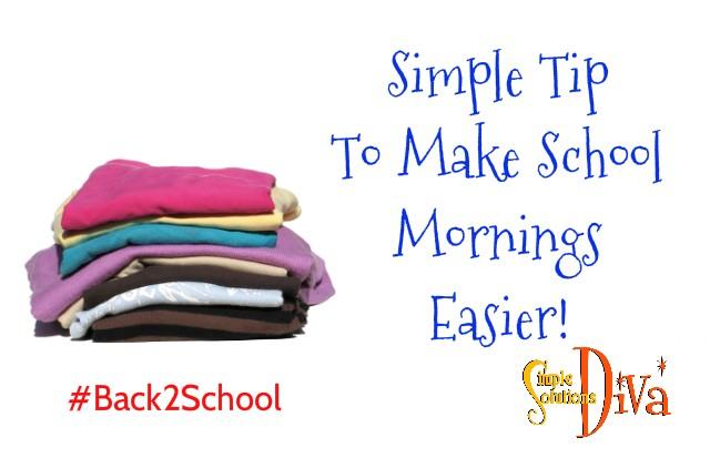 SChool Mornings Easier