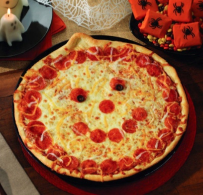 Pumpkin Pizza: Photo Courtesy of Papa Murphy's Restaurant.