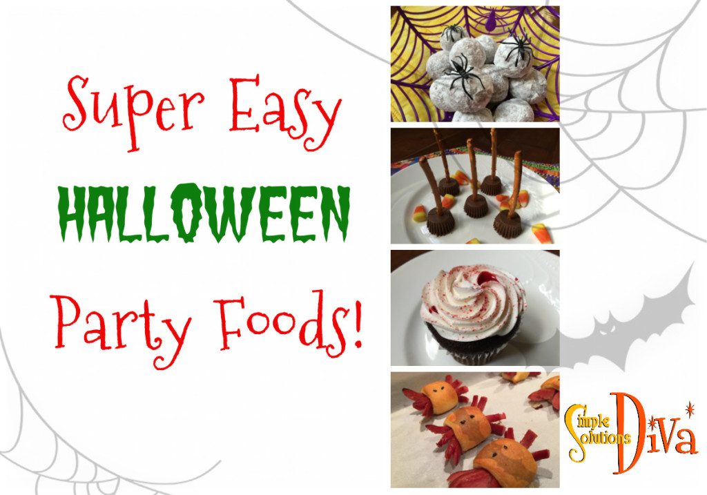 SSD Halloween Party Foods