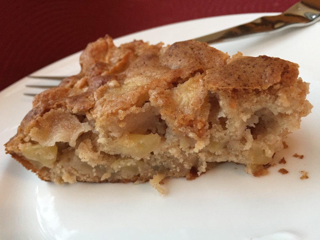 Simple Apple Cake from SimpleSolutionsDiva.com