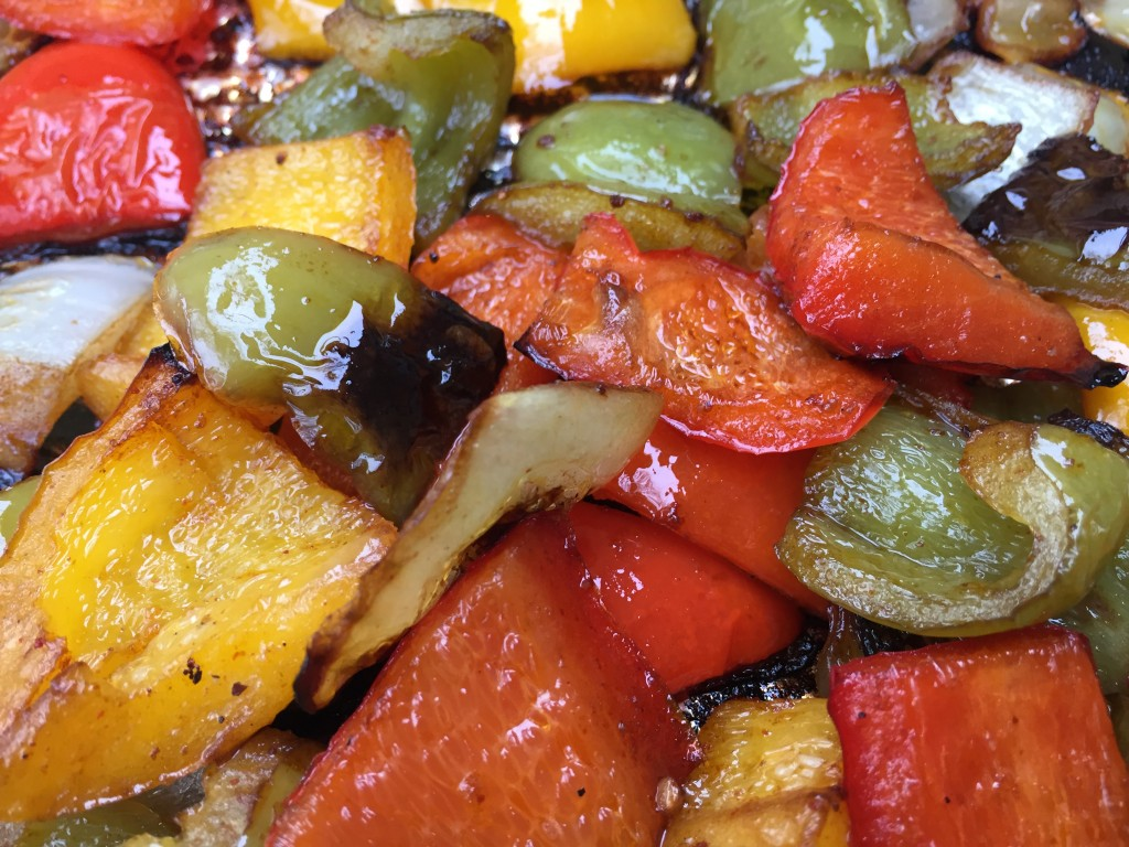 My beautiful grilled vegetables!