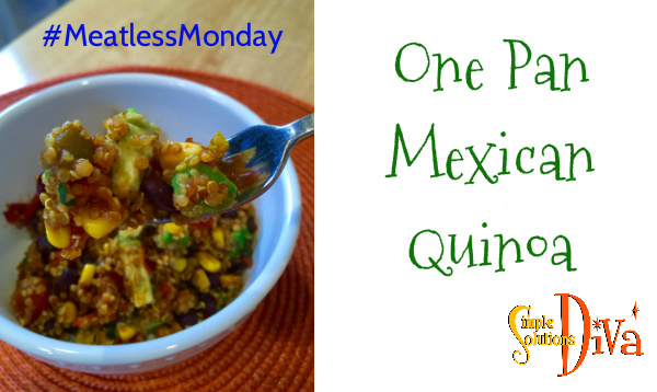 Meatless Monday Mexican Quinoa