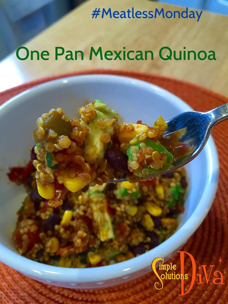 Meatless Monday Quinoa