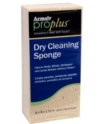 Example Of A Dry Cleaning Sponge.
